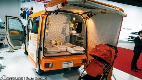 سوزوکی کومبی(خودرویی متفاوت برای خانواده های پرجمعیت!)