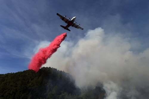 عملیات خاموش کردن آتشسوزی گسترده جنگلی در ایالت کالیفرنیا آمریکا/ گاردین و خبرگزاری فرانسه
