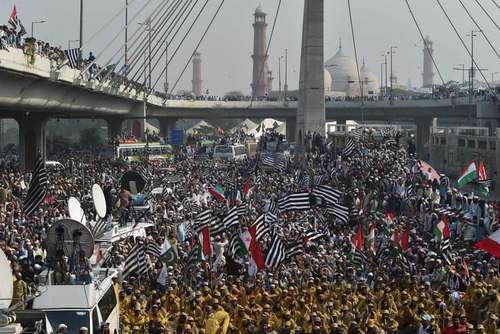 آغاز پیاده روی اعتراضی ضد حکومتی حزب