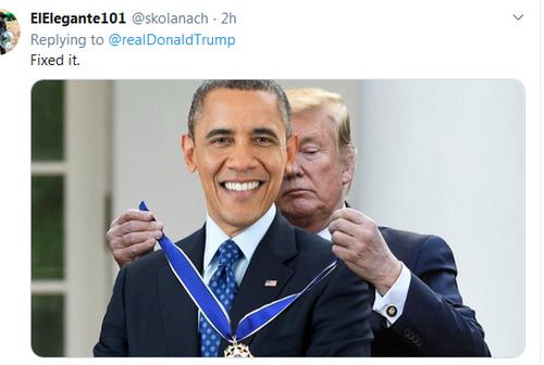 شوخی کاربران مجازی آمریکا با فتوشاپ ترامپ