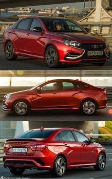لادا وستا پرفروش ترین خودرو در سال 2018