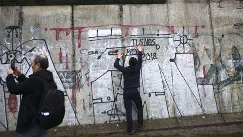 مراسم سی امین سالگرد فروپاشی دیوار برلین/آسوشیتدپرس