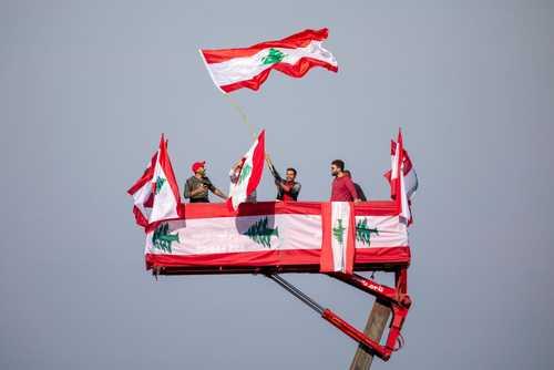 اعتراضات لبنانیها در هفتادمین سالگرد استقلال این کشور در