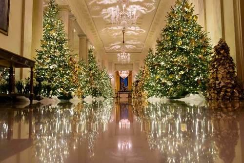 تزیین کریسمسی کاخ سفید/