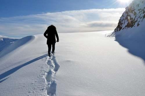 جادهای برفی در استان