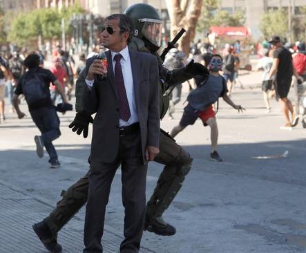 تظاهرات ضددولتی در شهر