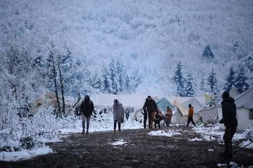 اردوگاه پناهجویان در شهر