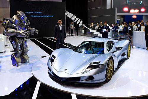 نمایشگاه خودرو دوبی/ گلف نیوز