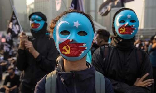 تظاهرات هنگیکنگیها در اعلام همبستگی با مسلمانان