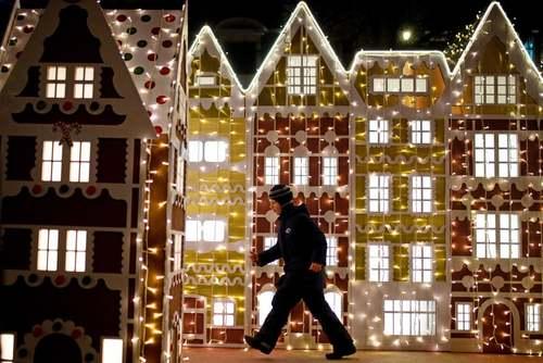 چراغانی شهر مسکو به مناسبت کریسمس/ ایتارتاس
