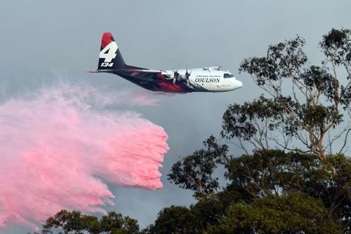 تلاش برای مهار آتش سوزی جنگلی در استرالیا/ خبرگزاری فرانسه