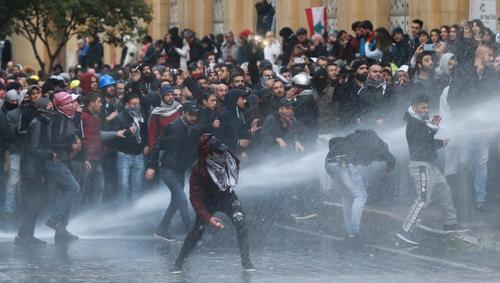 اعتراضات در بیروت