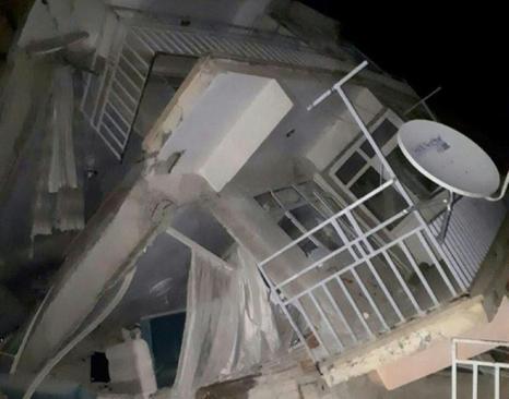 زلزله ترکیه در استان الازیغ - خبرگزاری فرانسه