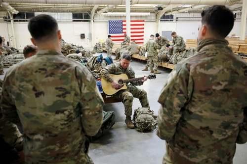 اعزام سربازان ارتش آمریکا به کلمبیا برای شرکت در یک رزمایش/ ایالت