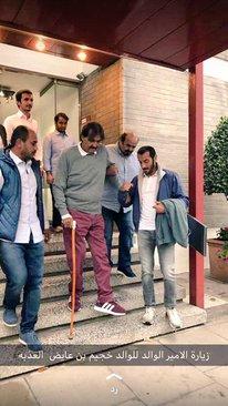 امیر سابق قطر (شیخ حمد بن خلیفة آل ثانی) در سفر اروپا
