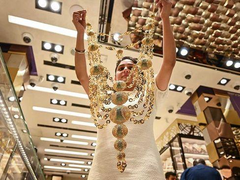 یک مغازه طلا و جواهر فروشی در شهر دوبی/ گلف ئنیوز