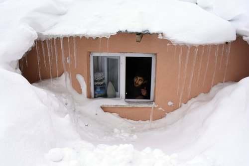 بارش برف سنگین در استان
