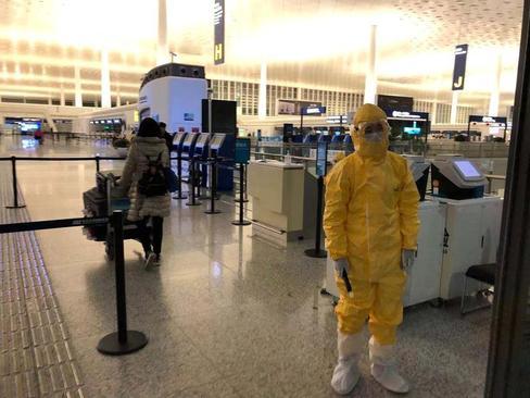 پرواز هماهنگ شده شهروندان کشورهای خارجی به کشورهای متبوعشان از فرودگاه بینالمللی شهر در قرنطینه