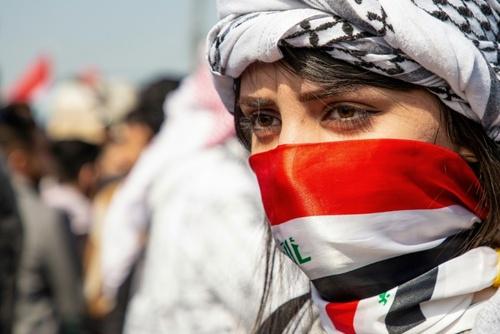 تظاهرات اعتراضی دانشجویان دانشگاه بصره عراق/ خبرگزاری فرانسه