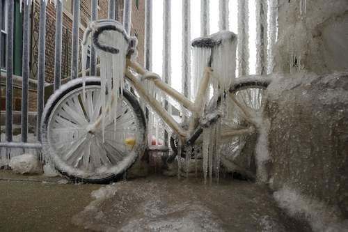 برودت هوا و یخزدگی در شهر