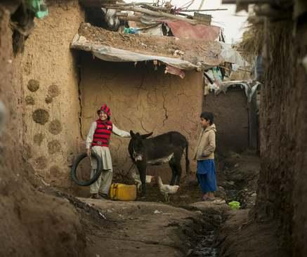اردوگاه پناهجویان (غالبا افغان) در حومه شهر اسلامآباد پاکستان/ خبرگزاری آناتولی