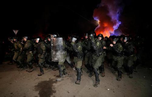اعتراضات هفته گذشته مردم محلی به قرنطینه کردن تعدادی از مسافران اوکراینی بازگشته از شهر