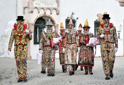 برگزاری جشنواره بهاره در روستایی در اتریش/ خبرگزاری فرانسه