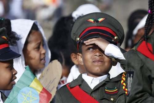 مراسم صدوبیست و چهارمین سالگرد پیروزی ارتش اتیوپی بر استعمار ایتالیا در