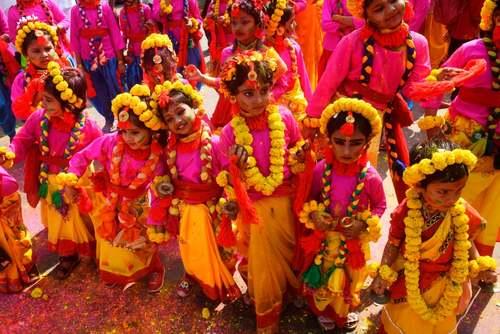 جشنواره رنگ در شهر کلکته هند/ خبرگزاری فرانسه وEPA