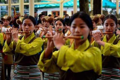 برگزاری مراسم گرامیداشت 61 اُمین سالگرد قیام تبتیها در هند/ خبرگزاری فرانسه