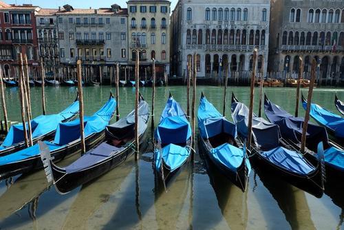 تعطیلی قایقهای گردشگری شهر ونیز ایتالیا/ رویترز