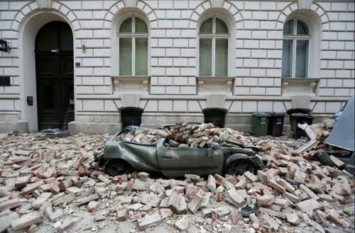خسارات زلزله در شهر