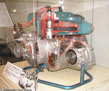 موتور دو سیلندر 356 سی سی