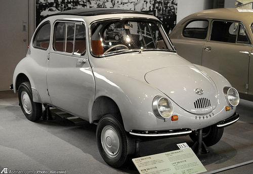 سوبارو 360 مدل 1958