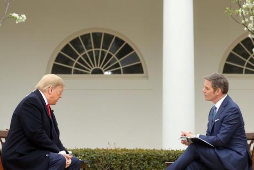 ترامپ در مصاحبهای اختصاصی با