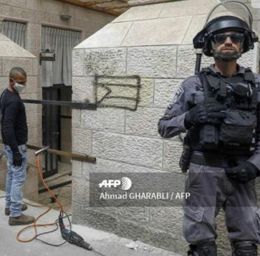 resized 1084954 878 درگیری با یهودیان افراطی اسرائیل بر سر مقررات کرونا (+عکس)