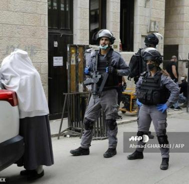 resized 1084955 168 درگیری با یهودیان افراطی اسرائیل بر سر مقررات کرونا (+عکس)