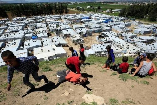 اردوگاه آوارگان سوری در