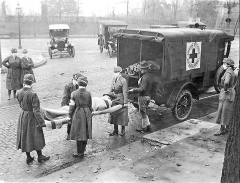 انتقال بیمار آنفلوآنزایی در شهر