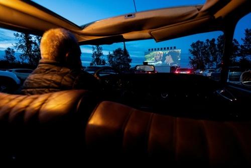 سینما- خودرویی در شهر