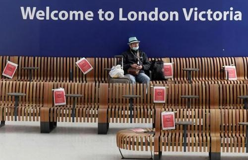 ترمینال ایستگاه راهآهن سراسری لندن/ رویترز
