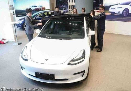 رونمایی از  تسلا مدل 3 چین در شانگ های