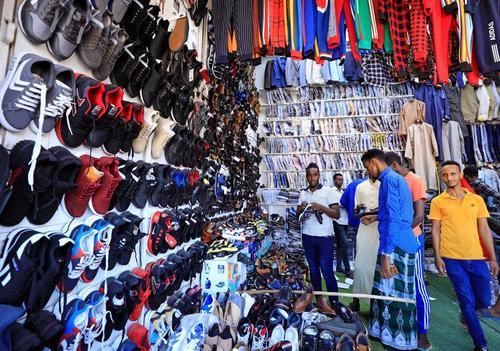 بازار خرید شب عید (فطر) در شهر