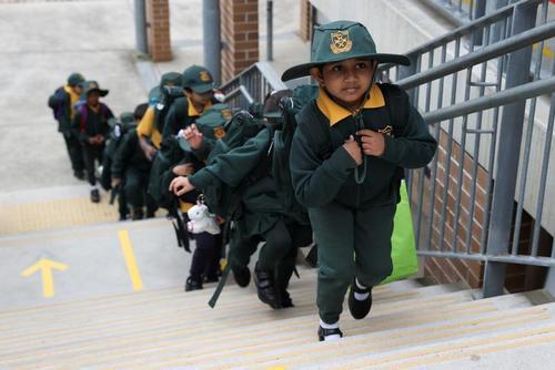 گشایش دوباره مدارس در سیدنی استرالیا/ رویترز