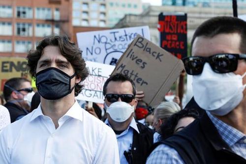 ترودو: تبعیض پلیس کانادا علیه بومیان باید پایان یابد