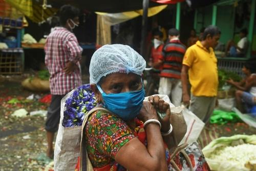 بازگشایی بازار گل در شهر کلکته هند/ خبرگزاری فرانسه