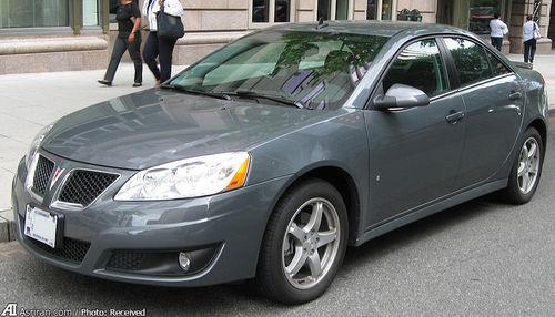 جی6 مدل 2009 آخرین مدل پونتیاک تولیدشده توسط جنرال موتورز