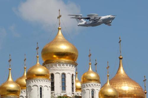 برگزاری مراسم رژه نظامی در مسکو به مناسبت سالروز پیروزی در جنتگ دوم جهانی با چند ماه تاخیر به خاطر بحران کرونا/ رویترز