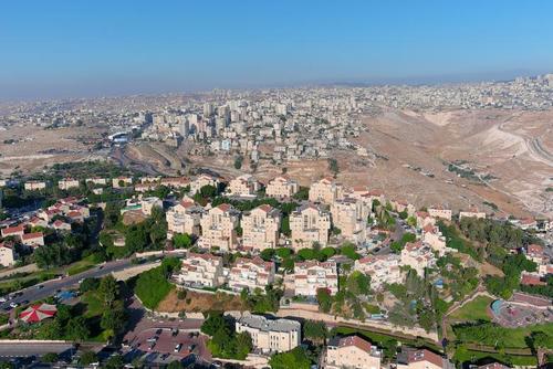 شهرک سازیهای غیرقانونی اسراییل در اراضی اشغالی فلسطین در کرانه باختری/ رویترز