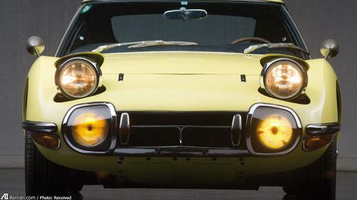 2000GT؛ گرانترین خودروی آسیا از تویوتا (+تصاویر)